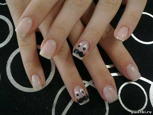 Молодежный дизайн ногтей фото