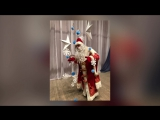 Театральная студия Школы 23, Ёлочка и Дед Мороз, в гостях у ансамбля Симпатия