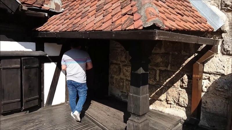 Bran Castle Castelul Bran Dracula's Castle in Transylvania June 2017 1