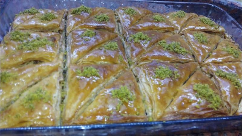 Турецкая Пахлава рецепт 30.минут Пахлава (энг осон пахлава) (kolay baklava)