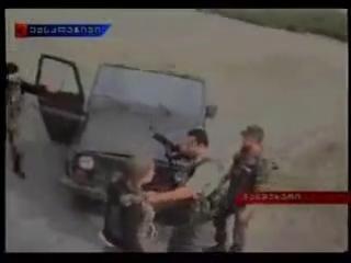 Русские успокоили грузин Саакашистов )))