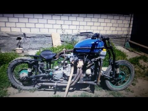 Мотоцикл c двигателем от Ваз 2109 Часть 9 Двухконтурное зажигание