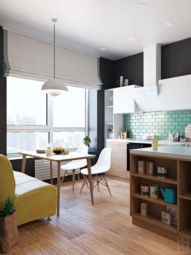 Проект квартиры в Москве от Fox House ?