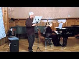 А.Пьяццолла Oblivion в переложении для кларнета и фортепиано