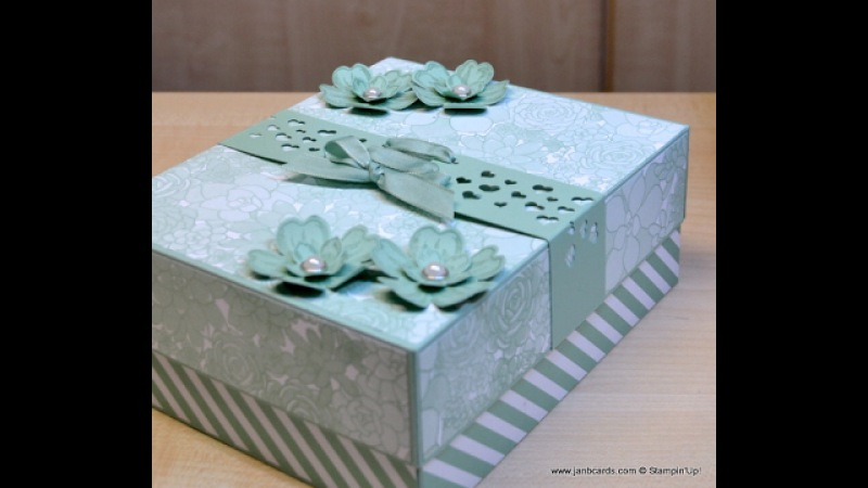 No.255 - Sietie's Card Box - JanB UK Stampin' Up! Demonstrator Independent
