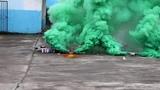 Дымовая завеса - двойной дым зеленый MEGA SMOKING GREEN - MA0514G