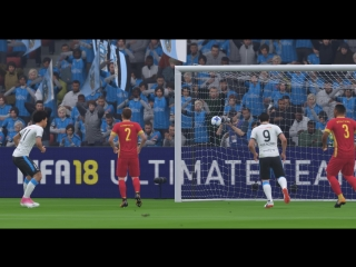 FIFA18 Нголо Канте ОЧЕНЬ хочет забить гол!