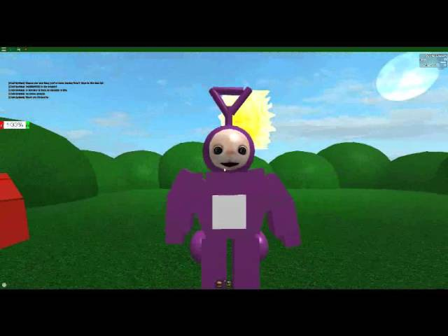 Teletubbies in Roblox