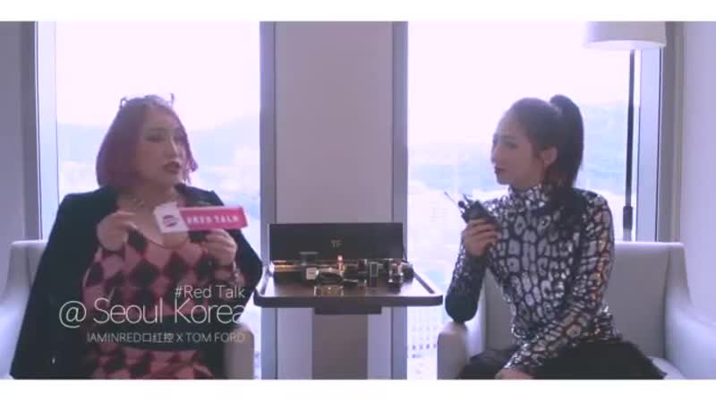 [Interview] 181115 Meiqi's Interview for Tom Ford @ Meiqi