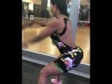 Тренировка для плеч и спины с канатом