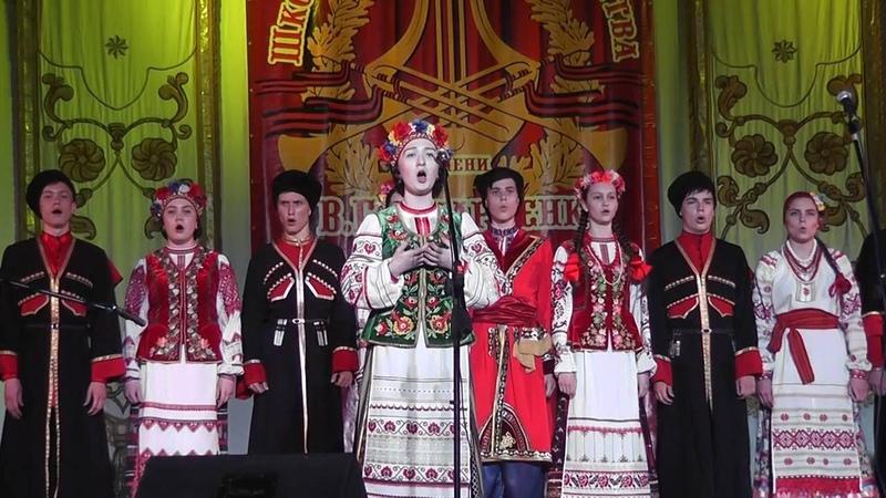 Не с под тучушки Отчётный концерт школы Захарченко 2016 солистка Ландина Арина