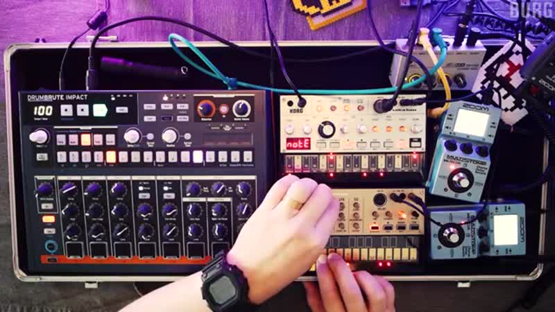 BURG 1K Synth Kit Setup - Session Two