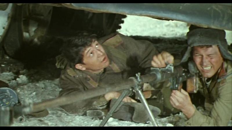 Последний бой 3 го взвода 1 ой роты Отрывок из кинофильма Аты баты шли солдаты