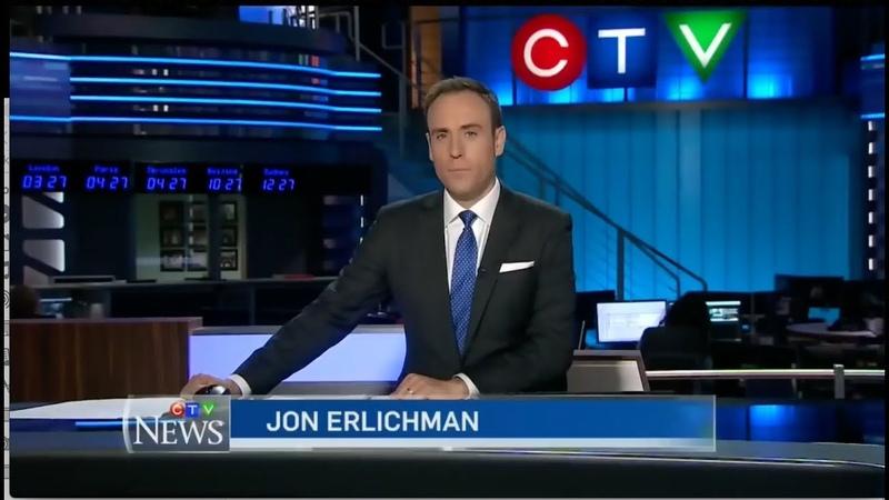 Видео «Команды охотников за НЛО» демонстрируют на CTV National News - Канада - 12 июля 2018 года