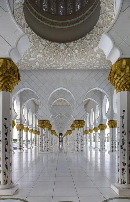 Мечеть шейха Зайда. ОАЭ