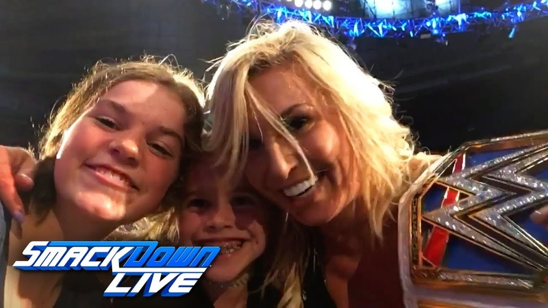 Exclusive footage of Becky Lynch's attack on Charlotte Flair: SmackDown Exclusive, Sept. 11, 2018