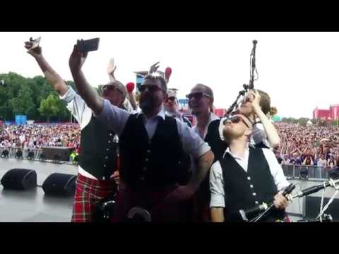 Mother F@cker Song. Moscow District Pipe Band FIFA Fan Fest 2018