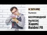 Обзор пылесоса Roidmi F8 Storm Vacuum Cleaner