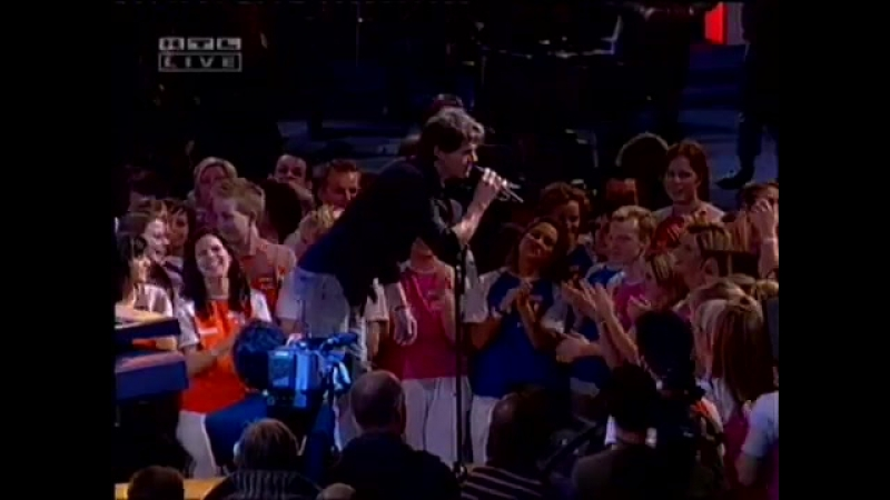 A-ha - Analogue Live on RTL Domino Day 18 11 2005