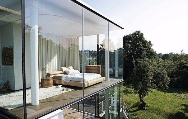 Спальня может быть такой (1 фото) - картинка