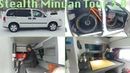 Stealth Minivan Dwelling Tour 3 0
