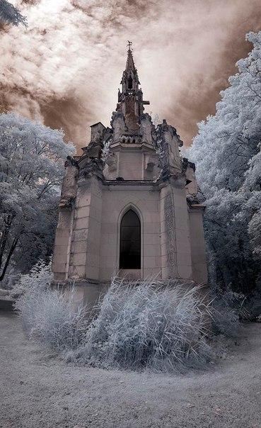Замок Château de la Mothe-Chandeniers