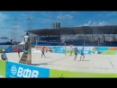 Beach volley Russia Kazan 2018 M 03 Likholetov-Gorbenko and Smorchkov-Kuzmin