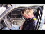 Volvo 440 ramp rollover!