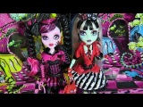 MONSTER HIGH SWEET SCREAMS FRANKIE STEIN AND DRACULAURA DOLL REVIEW VIDEO!!! :D