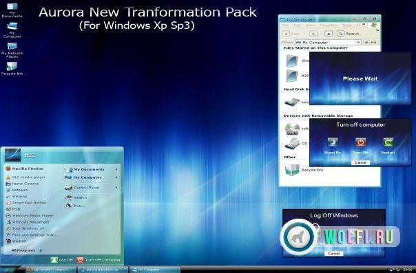 "���� Windows XP ""Aurora New Transformation / ������"""