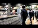 25S -2011 (Madrid/España) - La Policía Nacional española asalta la estación madrileña de Atocha