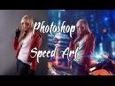 Photoshop Speed Art 🏍 Biker 🚧