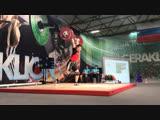Никита Хрулев толчок 176 кг. Сумма 317 кг (94)