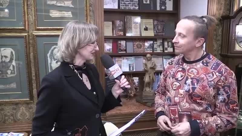 Иван Охлобыстин. Интервью для «Библио-Глобуса»