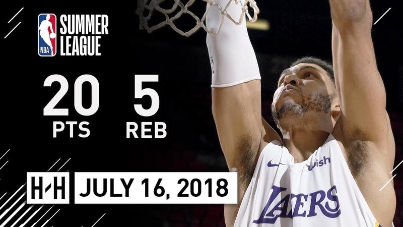 Jeff Ayres Full Highlights vs Cavaliers (2018.07.16) NBA Summer League - 20 Pts, 5 Reb, 3 Ast