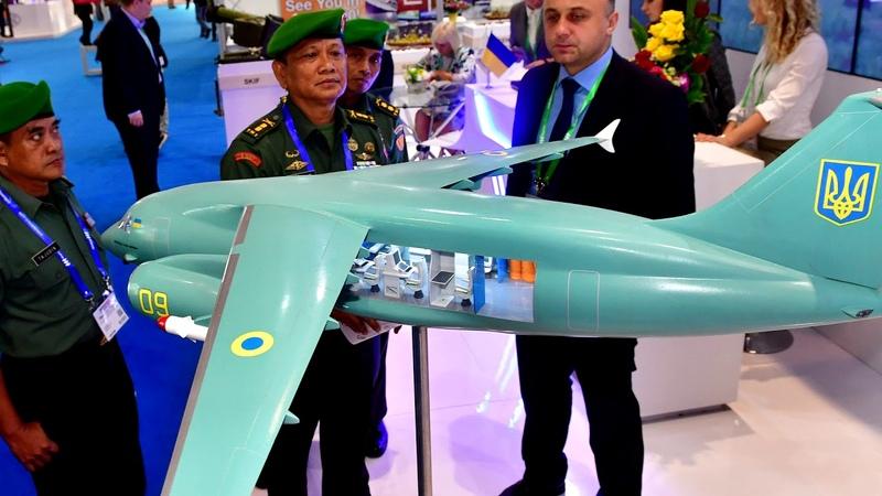 ГК Антонов вызвал фурор на выставке оружия Indo Defence 2018 в Индонезии