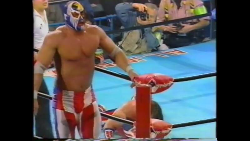 1993.03.30 - The Patriot vs. Davey Boy Smith [FINISH]