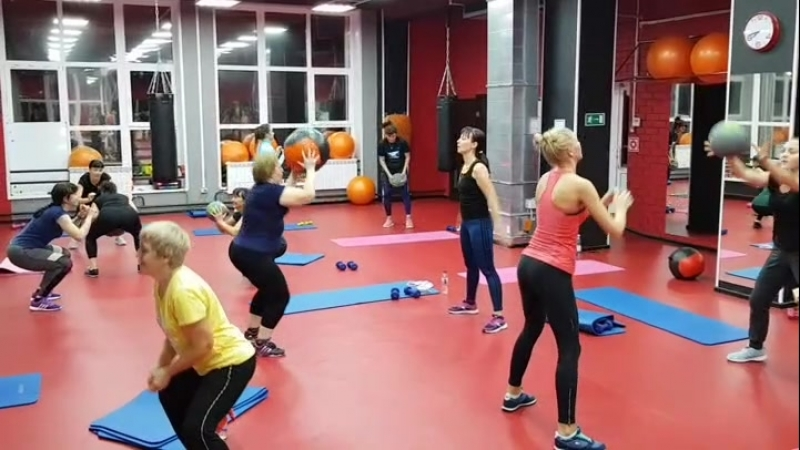 Interval Training с Юлией Позоровой FLEX GYM