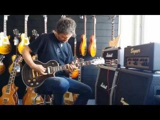 Сделал гитару сам. AMG SB (Saucy Beauty) Gibson LP Style
