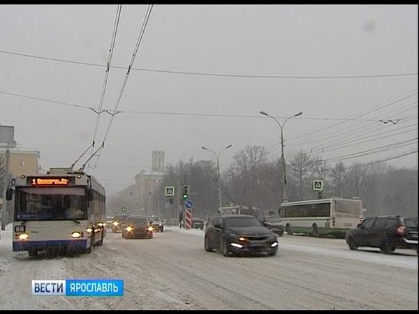 На Ярославль надвигается непогода