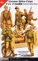 TS35011 Солдаты немецкого Африканского корпуса, набор 5 фигур.
