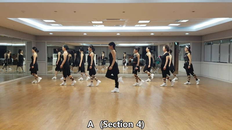Run Away Line Dance (Low Intermediate Level)