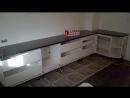 Фото процесса сборки кухни СА 21051
