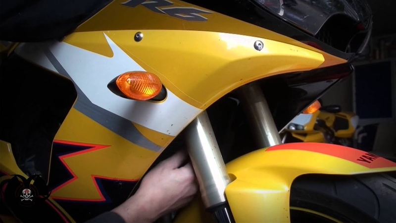 Установка шлангов HEL Performance на мотоцикл