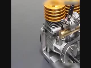 Как создаётся нитро двигатель