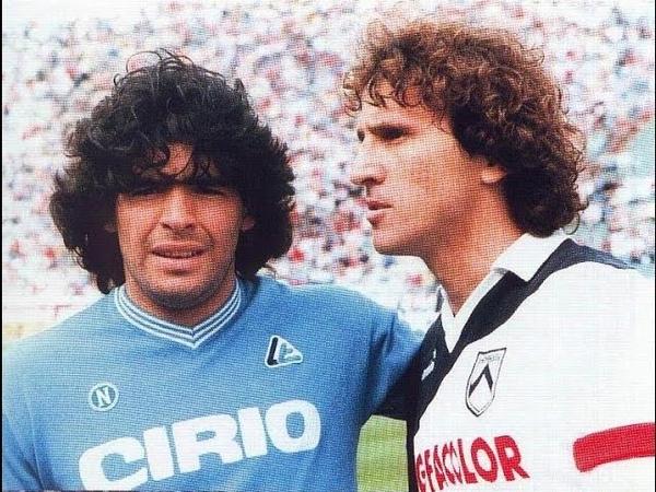 S S C Napoli Udinese Calcio SpA 1985 05 12 Maradona vs Zico