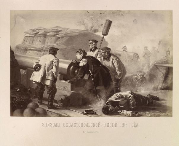 ЭПИЗОДЫ Носильщики беспрестанно вносили раненых, складывали из один подле другого на пол, на котором уже было так тесно, что несчастные толкались и мокли в крови друг друга, и шли за новыми.
