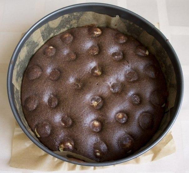 Шоколадно-творожный мягкий пирог. Ингредиенты на форму 22-24 см для