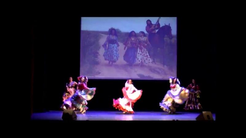 Театр цыганского танца и песни ШАТРИЦА видеоролик.