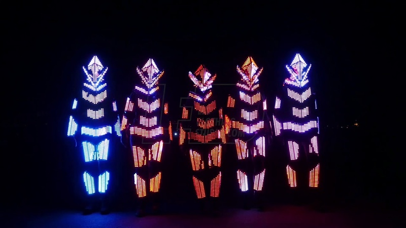 Orc LED costumes Ready for the final battle